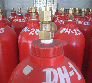High & Low Pressure Gas Cylinders